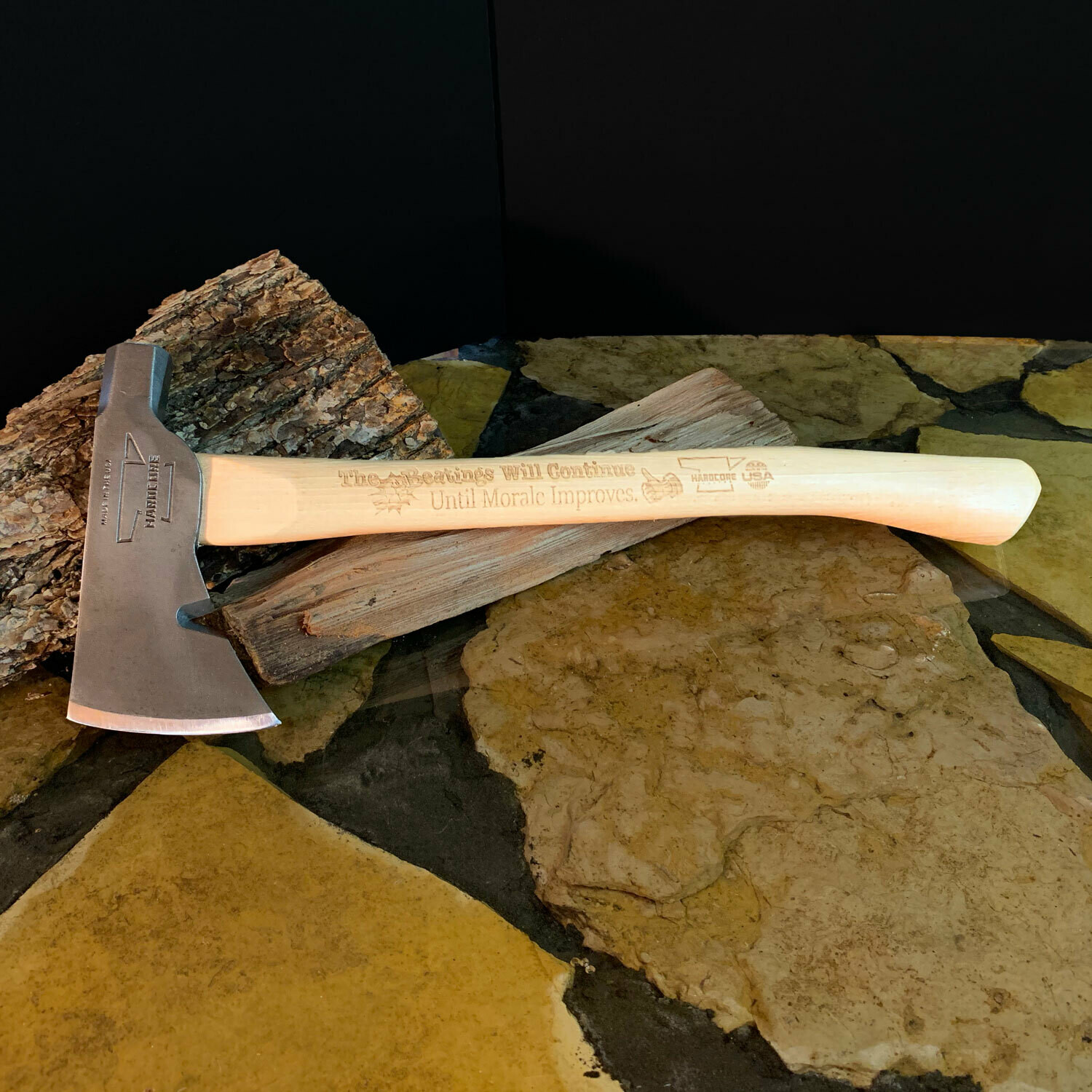 Super Naturalist Hatchet - The Beatings Will Continue...