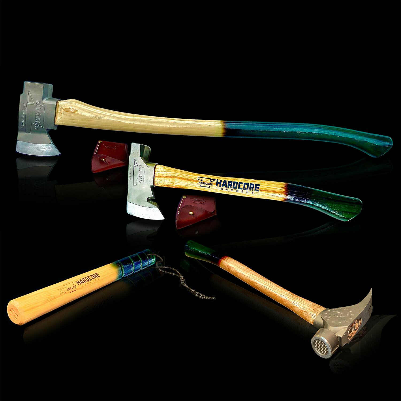 Envy Green Bundle - Axe, Hatchet, Thumper, Hammer