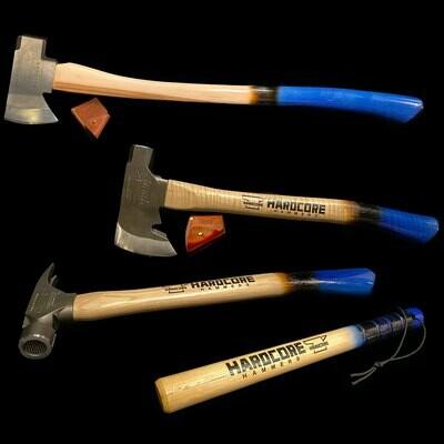 Midnightmare Blue Bundle - Axe, Hatchet, Thumper, & (Optional) Hammer
