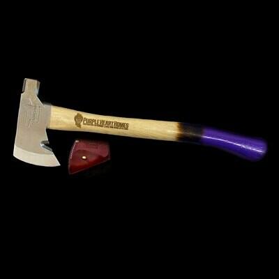Survivalist Hatchet - Purple Heart Homes
