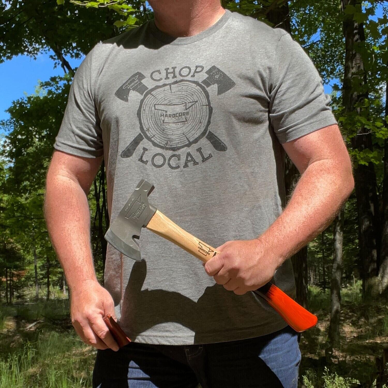 Chop Local - Gray T-Shirt