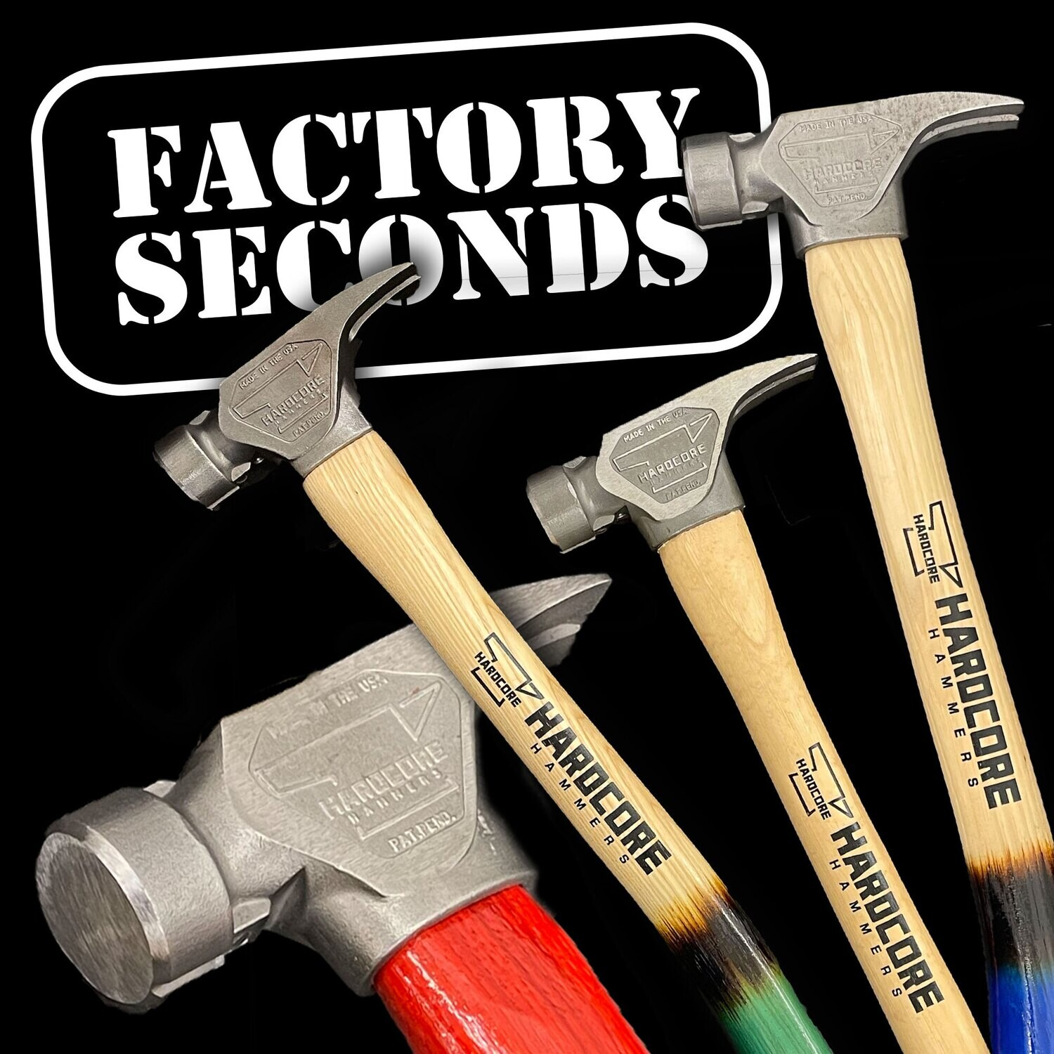 Factory 2nds - 19oz. Blunt Force Hammer