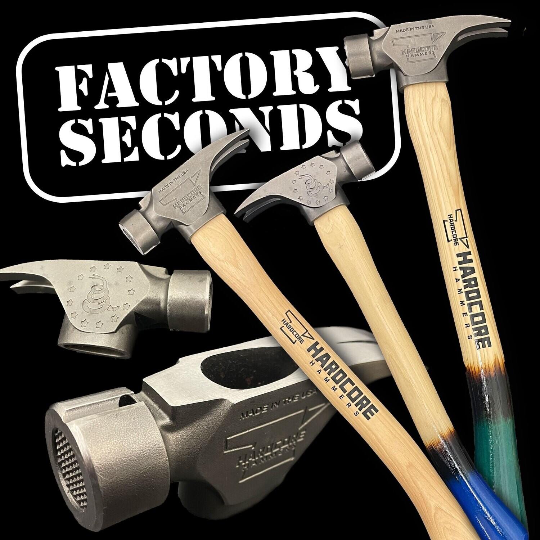 Factory 2nds - 21oz. Original Hardcore Hammer 2.0