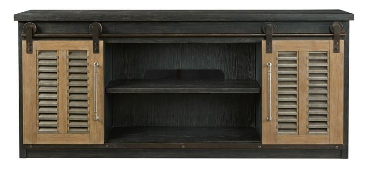 Merrit MEDIA CONSOLE Cobalt Black & Bisque