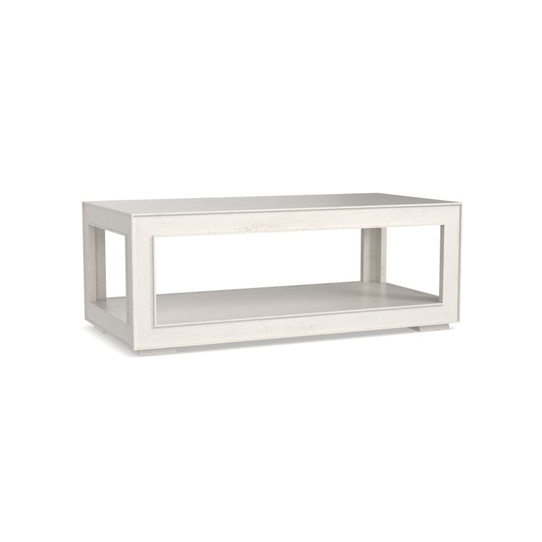 Bluffton COFFEE TABLE Workshop White or Lamp Black