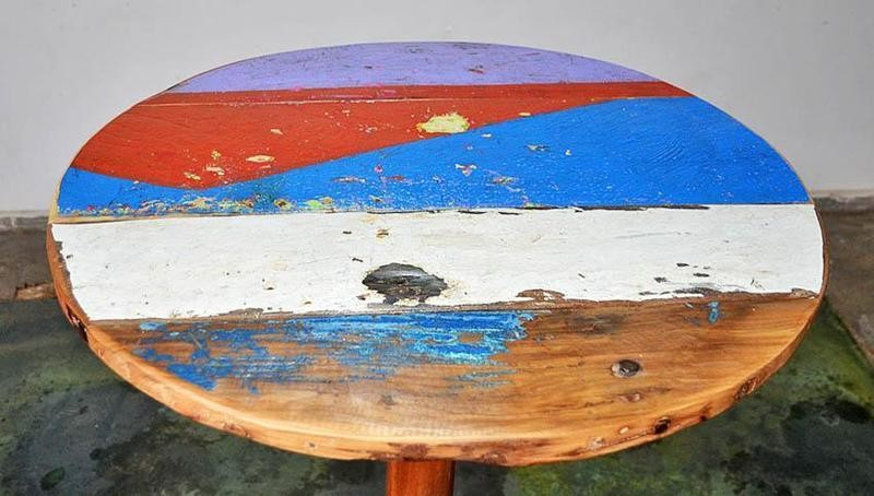 Boatwood RETRO PUB TABLE