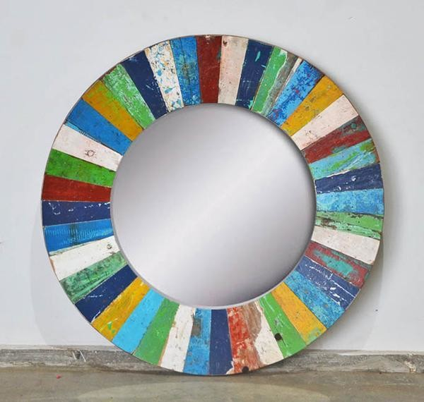 Boatwood PATCHWORK MIRROR