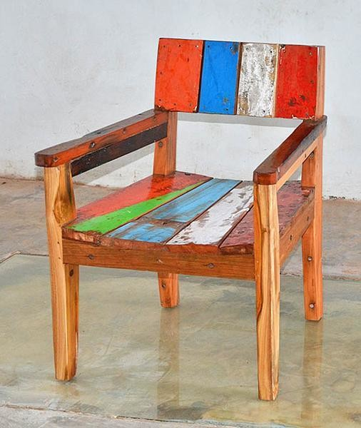 Boatwood ACHMAD ARM CHAIR