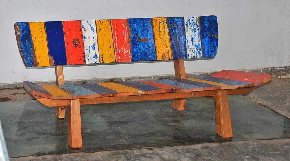 Boatwood BUTTERFLY BENCH