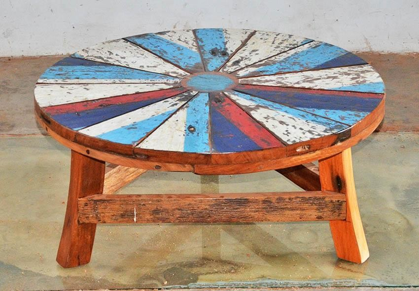 Boatwood COFFEE TABLES ROUND