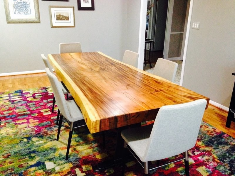 Boatwood SUAR DINING TABLE LIVE EDGE