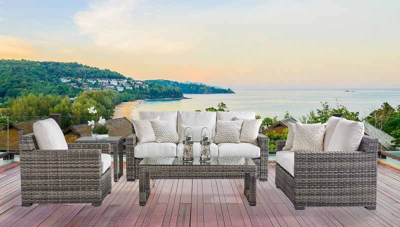 New Java OUTDOOR SEATING COLLECTION Textured Sandstone