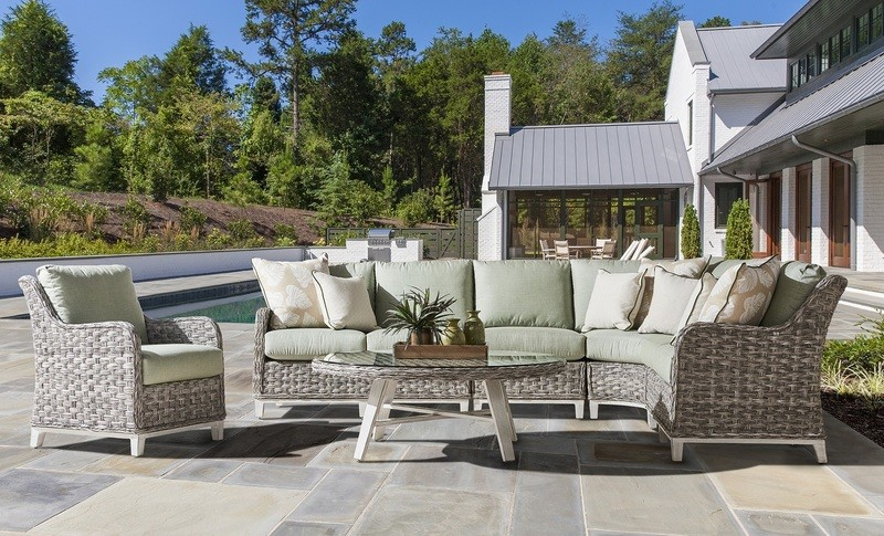 Grande Isle OUTDOOR SECTIONAL  L-SHAPED OR CORNER SHAPED