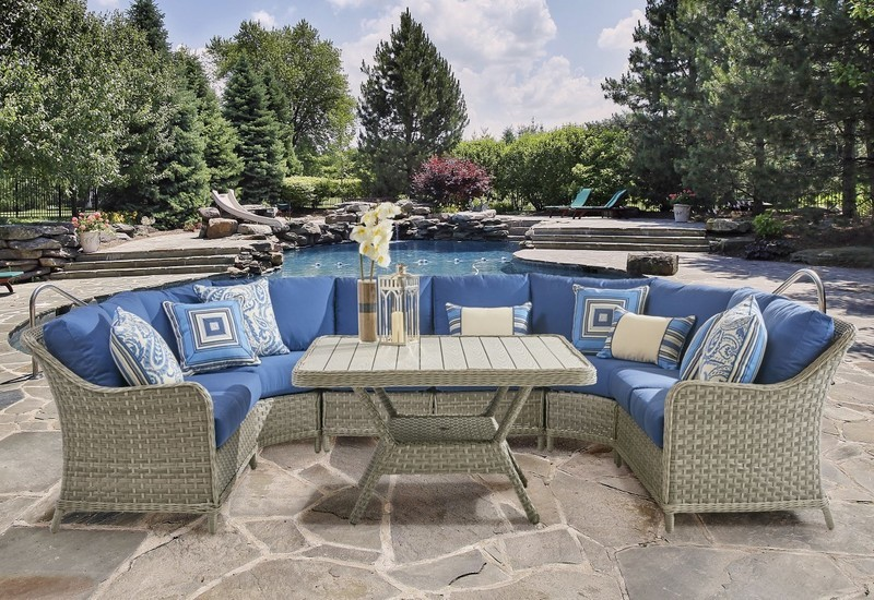 Mayfair OUTDOOR SECTIONAL COLLECTION L-Shape or U-Shape