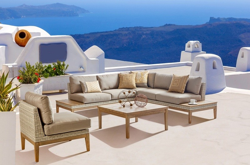 Candace OUTDOOR SECTIONAL  L-Shaped or Corner