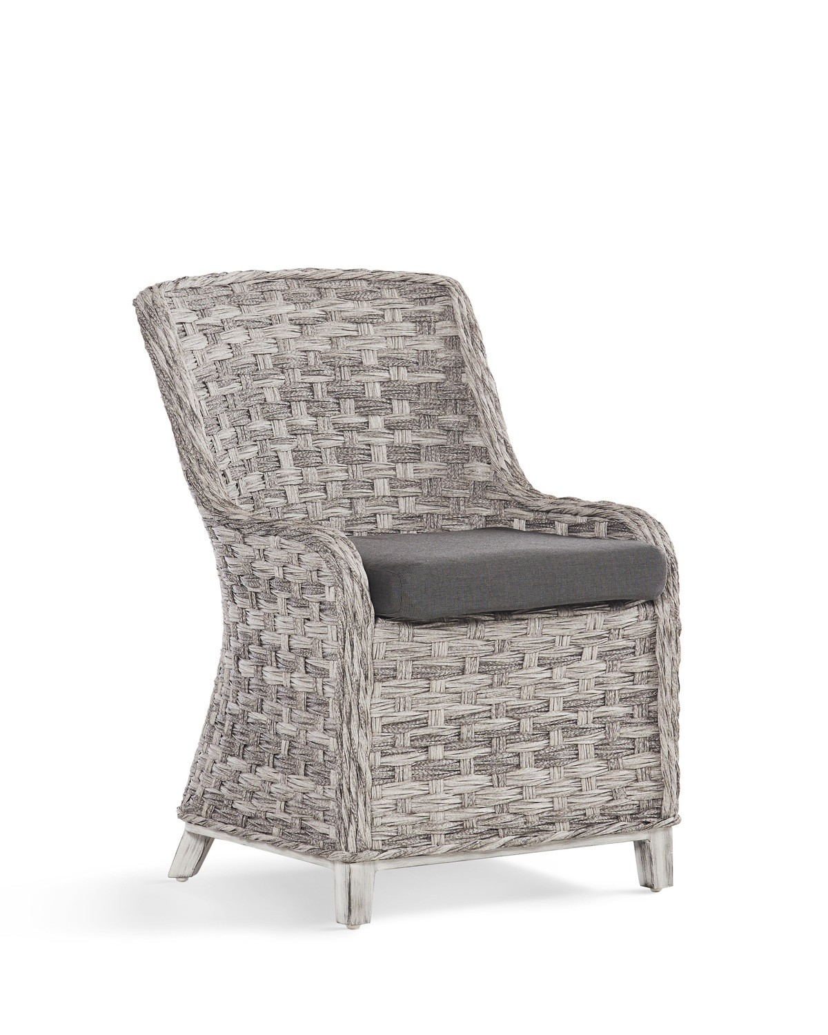 Grande Isle OUTDOOR DINING CHAIRS Soft Granite