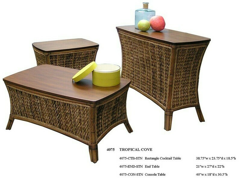 Tropical Cove OCCASIONAL TABLES Abaca