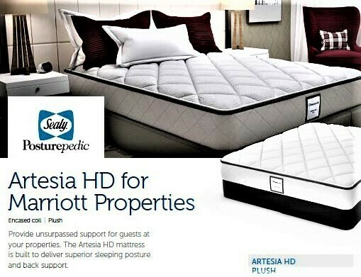 Artesia MARRIOTT MATTRESS Hospitality Grade