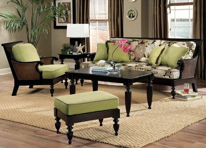 Caned  SEATING COLLECTION Mahogany