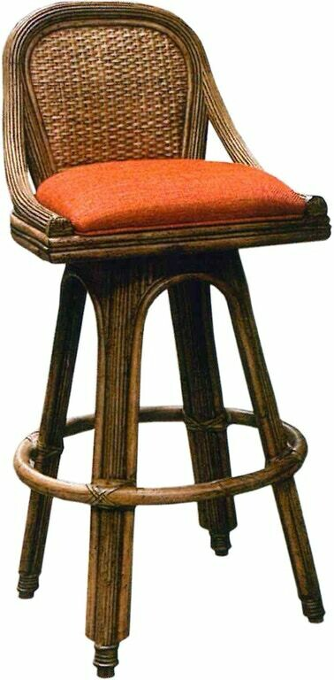 Woven BAR STOOL Swivel