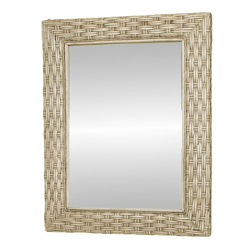 Rattan MIRROR Sea Breeze