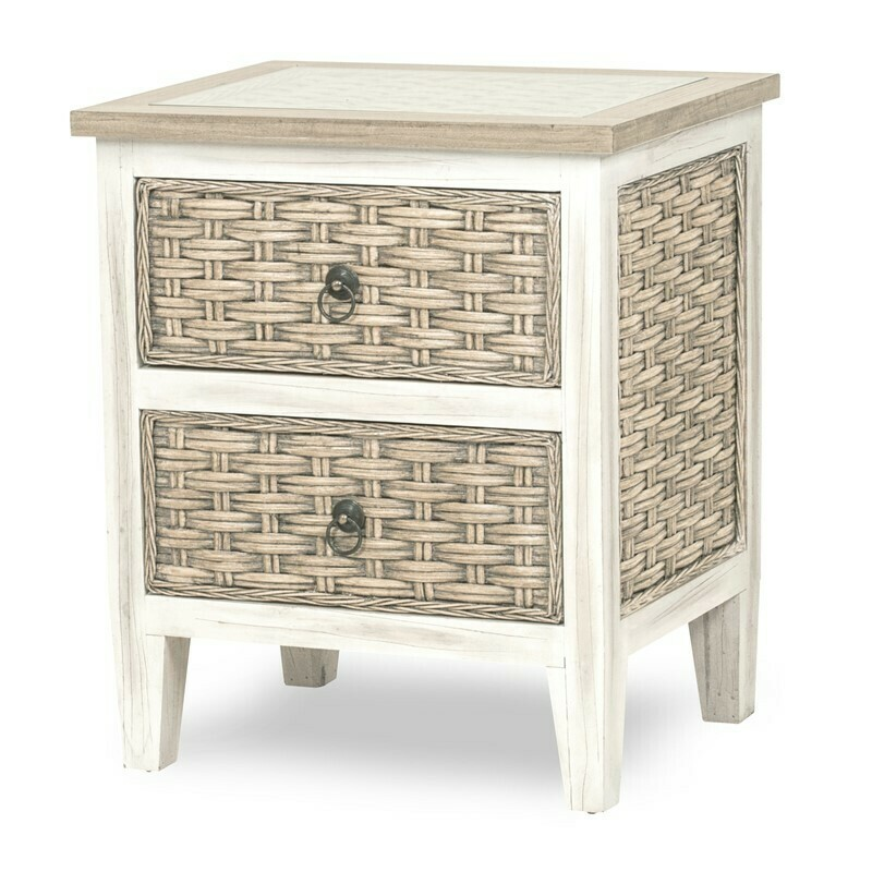 Rattan NIGHT STAND  Sea Breeze