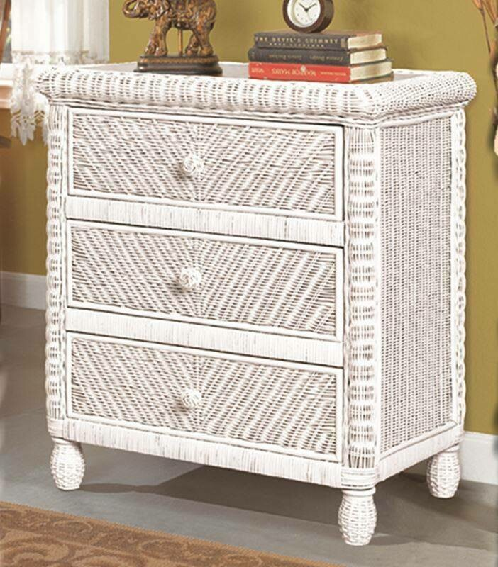 Santa Cruz NIGHT STAND White