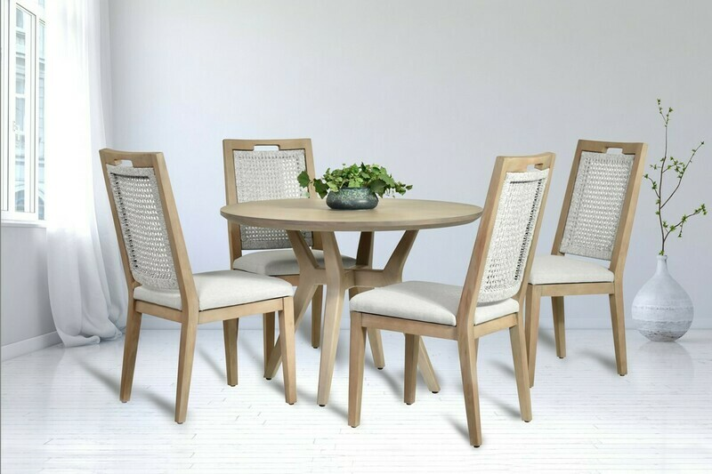 Small Spaces ROUND DINING SET Bethany