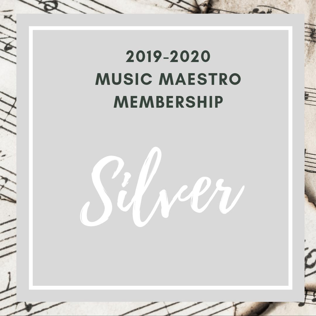 2019-2020 SILVER Maestro Membership