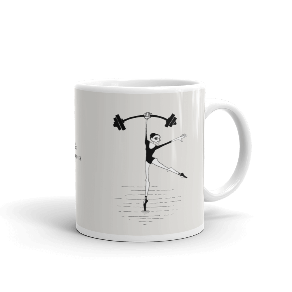 Strong Dancer Sketch Coffee Mug