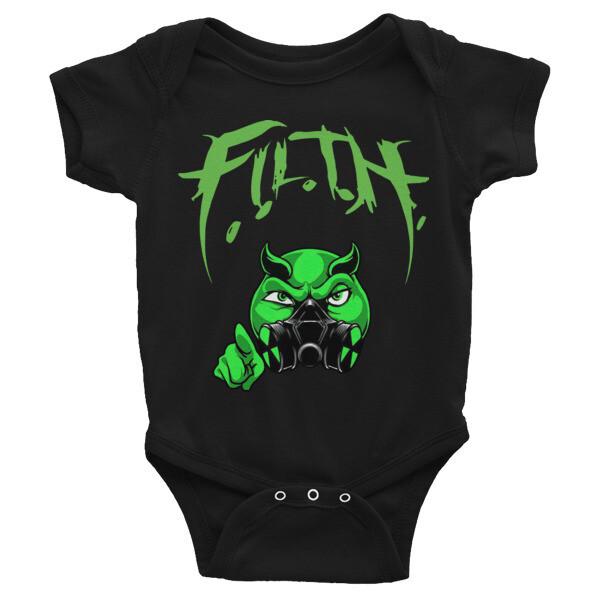 F.I.L.T.H Infant Onesie