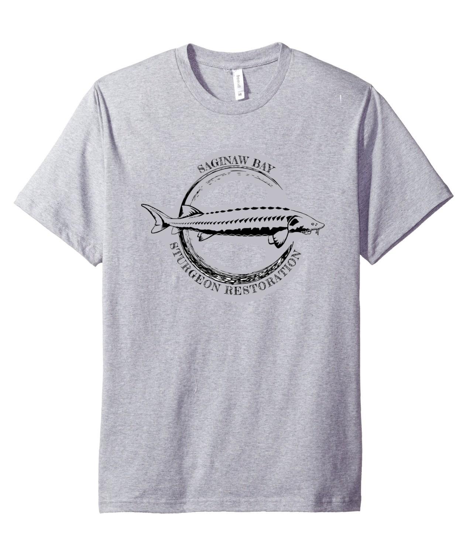 Saginaw Bay Sturgeon tshirt (no image on back)
