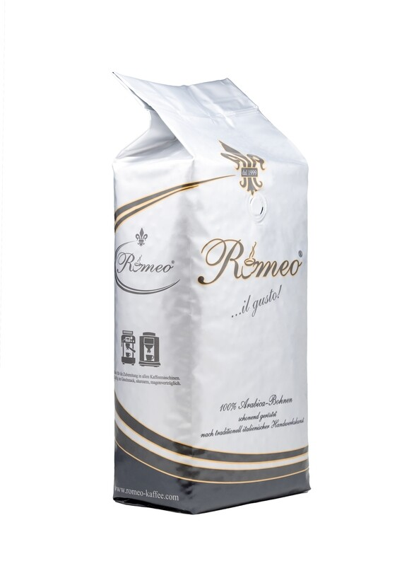 Romeo Kaffee 100% Arabica in Bohnen