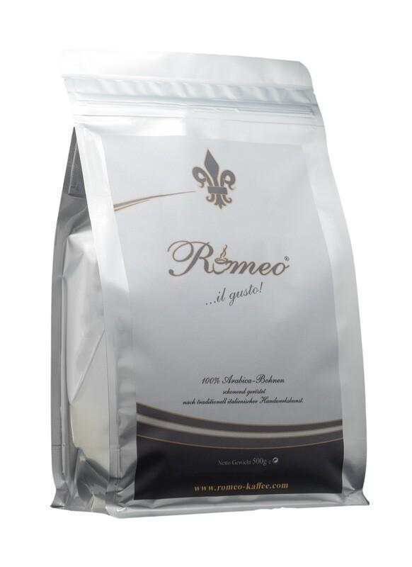 Romeo Kaffee 100% Arabica 500g in Bohnen