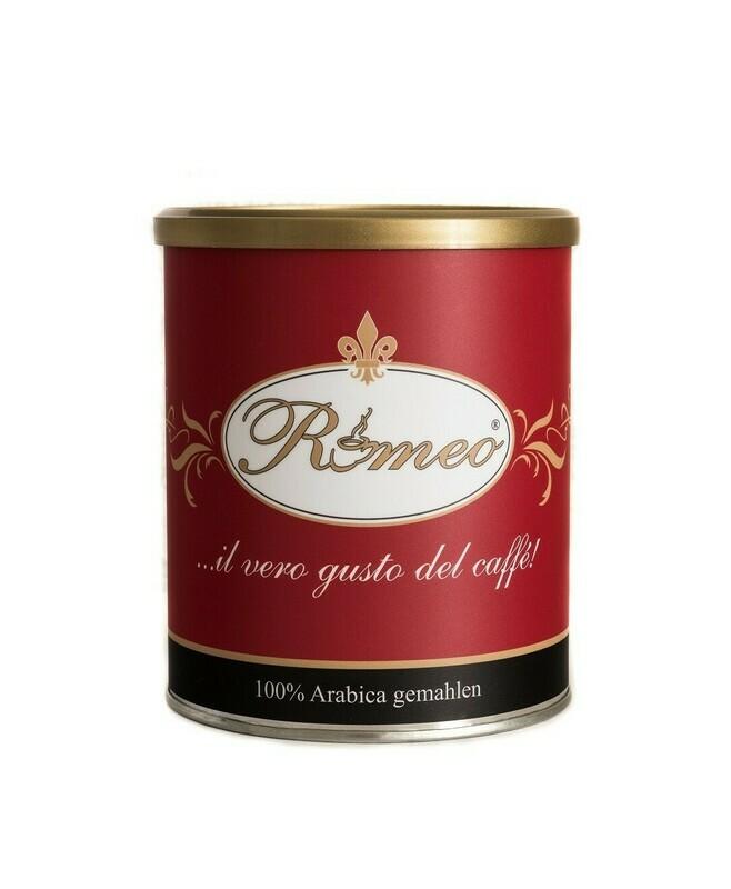 Romeo Kaffee 100% Arabica gemahlen 250g