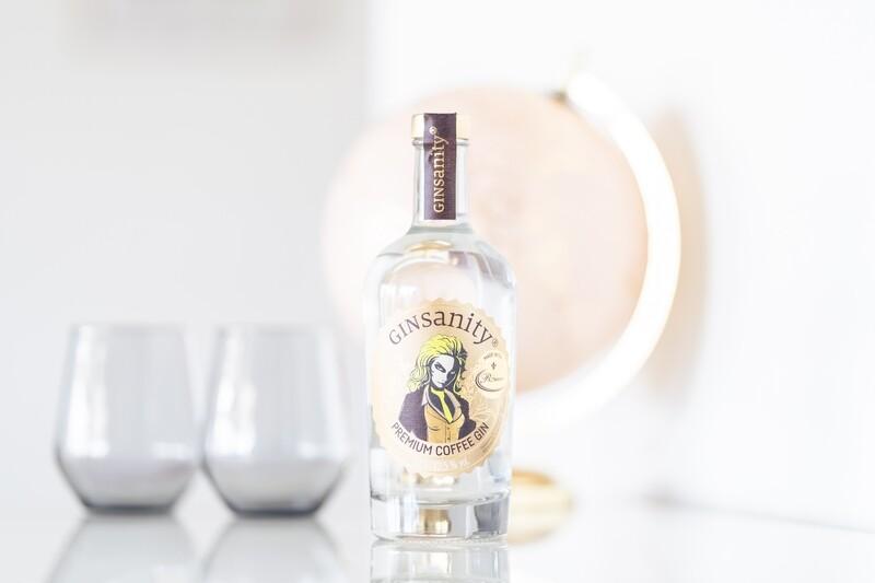 Ginsanity Premium Coffee Gin 0.5l