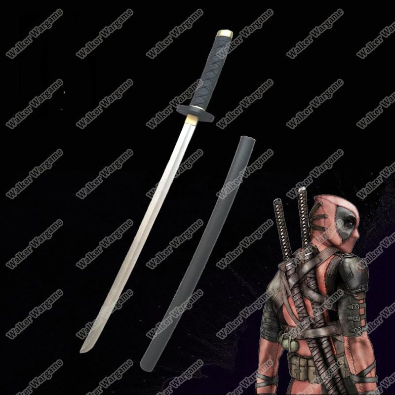 Rubber Training Sword - Deathpool Sword Length 61cm Weight 260g