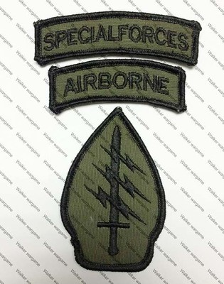B202 US Army Special Force Patch Delta Force - Green Colour