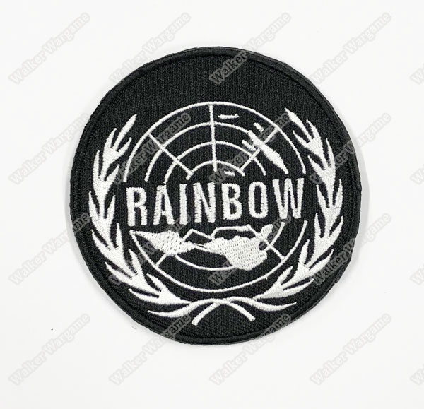WG104 Tom Clancy's Rainbow Six Unit Patch With Velcro - Black Colour
