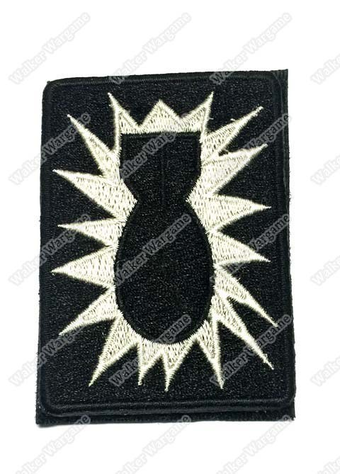 WG012 US Army Boom Squad Patch With Velcro - ACU Colour