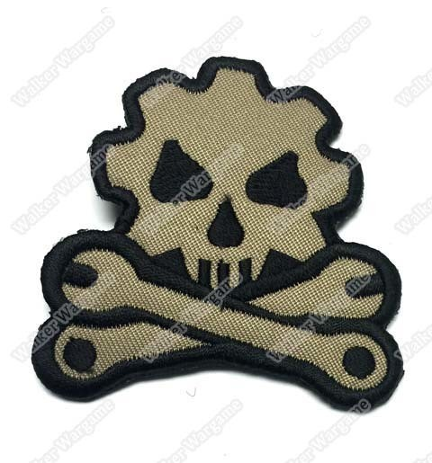 WG014 Death Engineer Patch With Velcro - ACU Colour