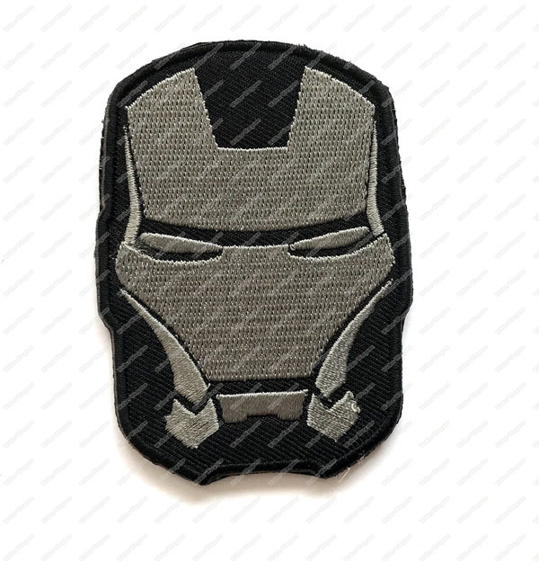 WG064 The Avengers - Iron Man Patch With Velcro - ACU Color