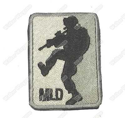 WG029 MLD - Major League Doorkicker Patch With Velcro - ACU Colour