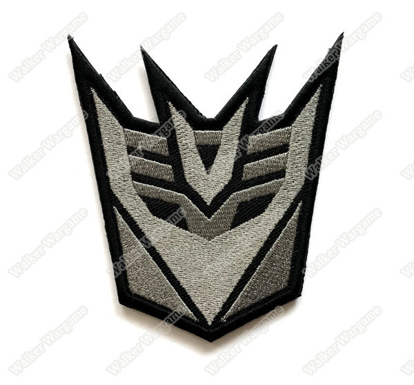 WG069 Transformer Decepticons Patch With Velcro - ACU Color