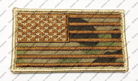 B2198 US Flag Right Arms With Velcro - Multican Colour