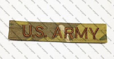 Q082 US Army Name Tag Patch With Velcro - Multicam Colour