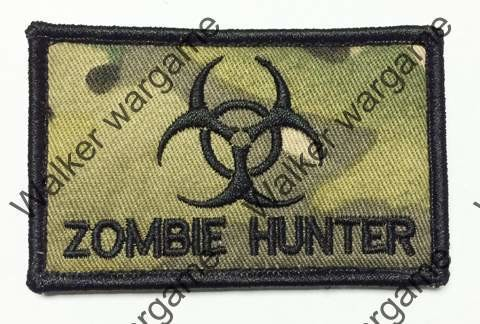 B3150 Biohazard Zombie Hunter Patch With Velcro - Multicam Colour