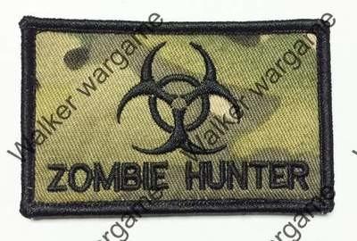 B3150 Biohazard Zombie Hunter Patch With Velcro - Multicam Colour