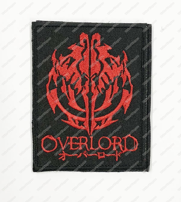 WG099 YGGDRASIL Overlord Patch With Velcro - Black Colour