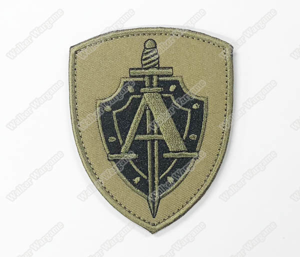 WG114 Russia Alpha Group FSB Special Force Patch With Velcro - Full Color